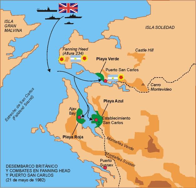 21 de mayo de 1982-Malvinas-Cronologia de Guerra - » Mi... en Taringa!