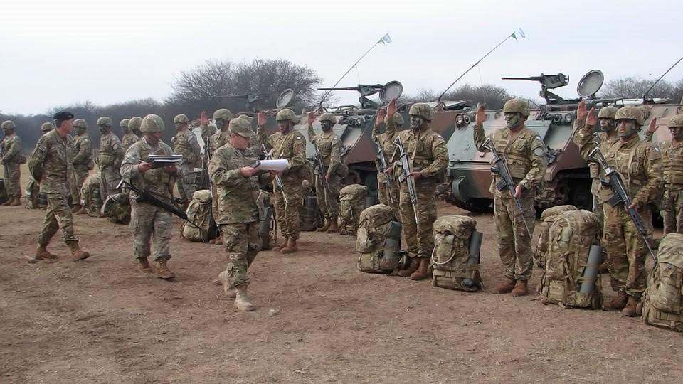 La Inspectoría General del Ejército en la Xma Brigada Mecanizada ...